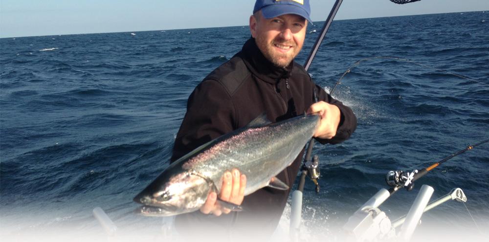 Lake michigan fishing charters indiana site map for Fishing charters michigan