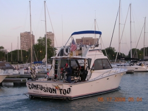 Docking in Montrose Harbor