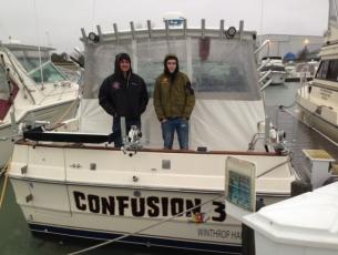 Capt Brian and Mate Austin