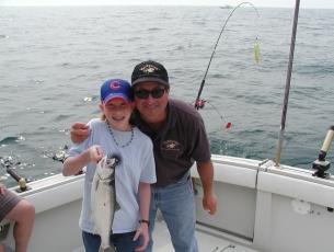 Capt Bob and Happy Fisherman