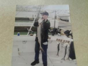 Old King Salmon Shot