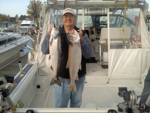 Tom B with another nice catch Fall 2012